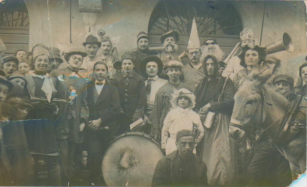 Banda inizi 1900